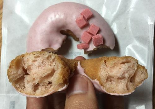 セブンイレブンのドーナツいちご味!甘いし油っぽい?口コミ&感想3