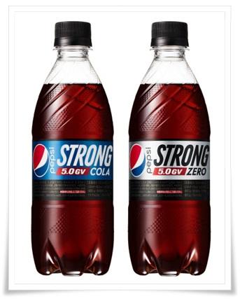 ペプシストロング5.0gvの口コミは変な味?カロリー0でも糖質で太る?1