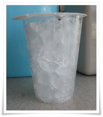 セブンカフェのアイスコーヒー!容量の割に氷が…皆どうしてる?多い
