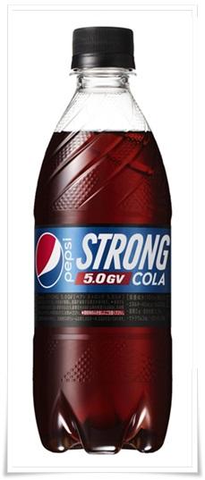ペプシストロング5.0gvの口コミは変な味?カロリー0でも糖質で太る?2