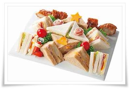 セブンイレブンのクリスマスオードブル!内容や値段は?予約必須?クリスマスサンドイッチセット