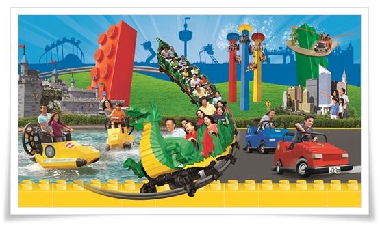 LEGO LAND Japanが名古屋で!セブンイレブンだとチケット購入特典が2
