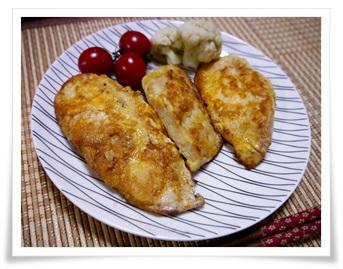 セブンイレブンのサラダチキン(ハーブ)!簡単アレンジレシピで実食パン粉揚げる