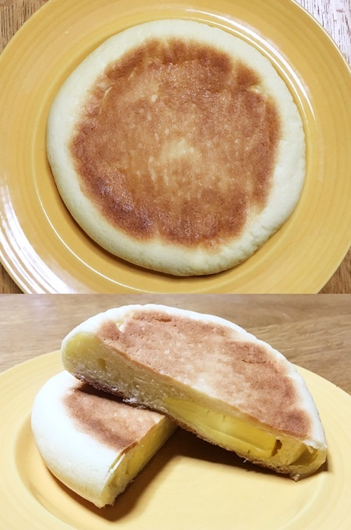 コンビニ4社のメロンパン比較!カロリーも考慮した人気ランキングミニストップ 平焼きメロンパン2