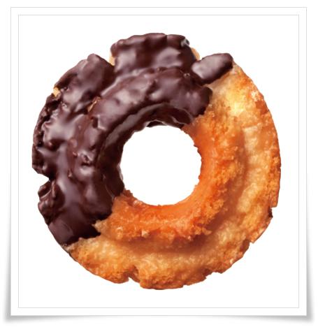 ミスドvsコンビニ(セブン&ローソン)ドーナツ比較!味やカロリーでローソン オールドファッション チョコ