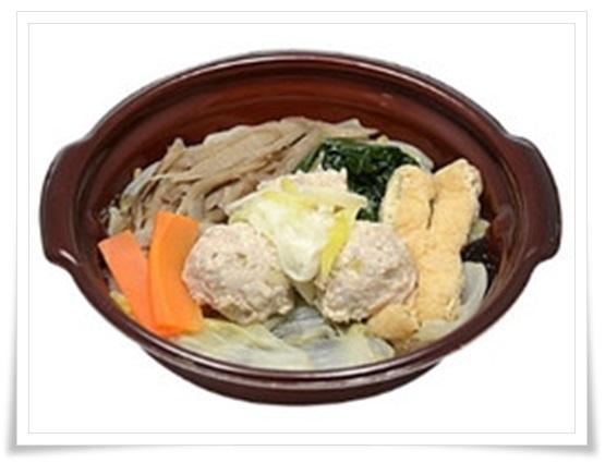 セブンイレブンの鍋の種類!野菜とスープが超うまい!カロリーは?1日に必要とされる野菜が摂れる鶏団子鍋
