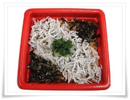セブンイレブンの弁当メニュー!衝撃の低カロリーランキングBEST11茨城県水揚げしらすの御飯