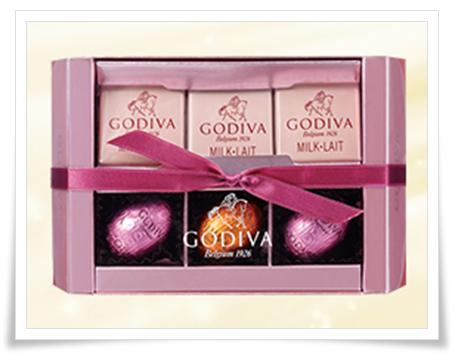コンビニ4社のバレンタインチョコ2017人気ランキング!値段も考慮セブンゴディバ ミルクアソートメント