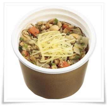 セブンイレブンのダイエット中にもおすすめな朝食商品ランキング!生姜香る和風スープ(もち麦入り)