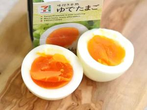 セブンのゆで卵は味付けが良い!ダイエットにも使えるカロリーなの?3