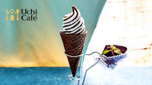 ローソンのワッフルコーンチョコミント味のカロリー!美味しいって?1