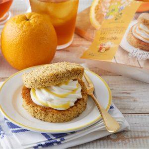 ファミマとAfternoon Teaがコラボ!オレンジアールグレイの紅茶シフォンサンドって?1