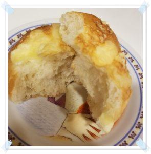 【セブンもっちりうま塩チーズのパンが最強!美味しい&安いって本当?】開けて切った