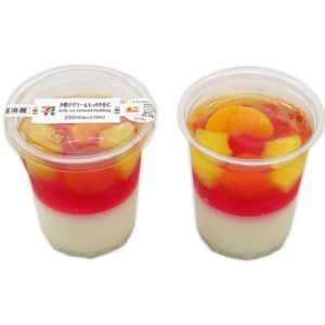 セブンイレブンの夕焼けゼリー&もっちり杏仁!カロリーや値段は?2