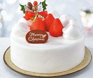 セブンイレブンのクリスマスケーキで北海道と沖縄限定のは何種類?8