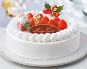 セブンイレブンのクリスマスケーキで北海道と沖縄限定のは何種類?7