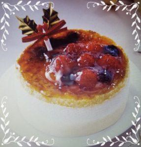 【ファミマのクリスマスケーキの種類!予約はいつまで?支払い方法も!】ブリュレチーズケーキ