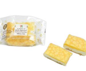 セブンのもっちりクレープダブルレアチーズクリームがうまい!値段も(8)