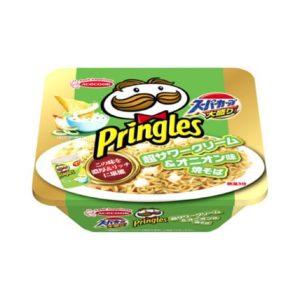 コンビニのでプリングルズのカップ麺が!スーパーカップ焼きそばの値段1