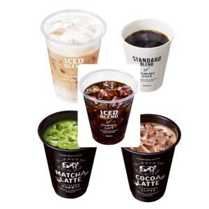 コンビニ3社でコーヒー(レジ横ドリンク)種類が多いのは?おすすめも1