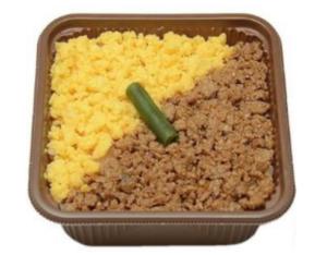 セブンの一膳ごはん(鶏とななたまのそぼろ)が美味い!カロリー&値段も