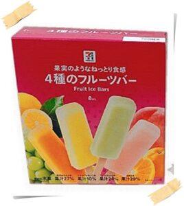 セブンプレミアムの4種のフルーツバーマルチって何味?値段も紹介! 商品