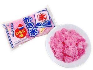 セブンのフタバかき氷いちご味(袋)が販売地域拡大?値段&カロリーも