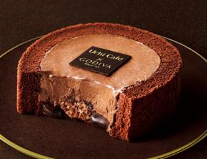 ローソンとゴディバコラボ!ショコラロールケーキの値段&カロリー!1