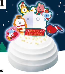 ファミマのクリスマス2021!ケーキやチキンの種類は?キャラコラボも